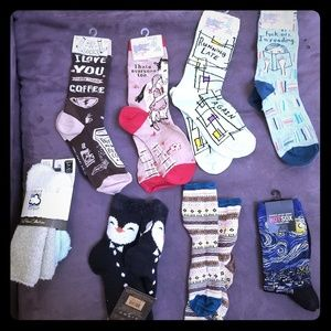 NWT Mix & Match Fun socks 2 for $10 /3 for $15